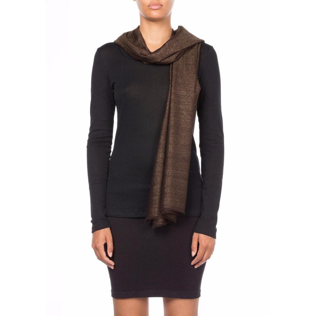 Etole en cachemire et Fil textile® Arya