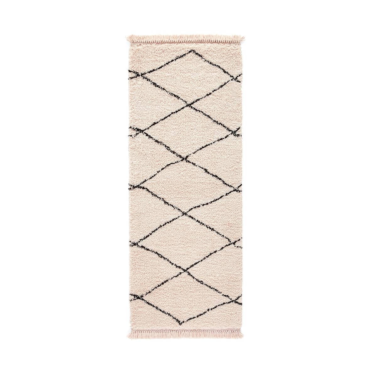Ковер La Redoute Для коридора в берберском стиле Fatouh 80 x 300 см бежевый