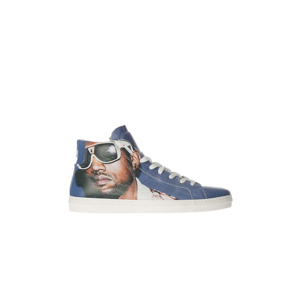 Baskets American College Kanye W Imprime Homme