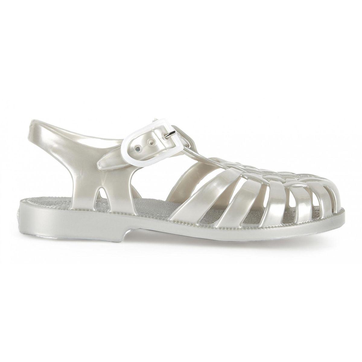 Sandales en plastique opaque SUN