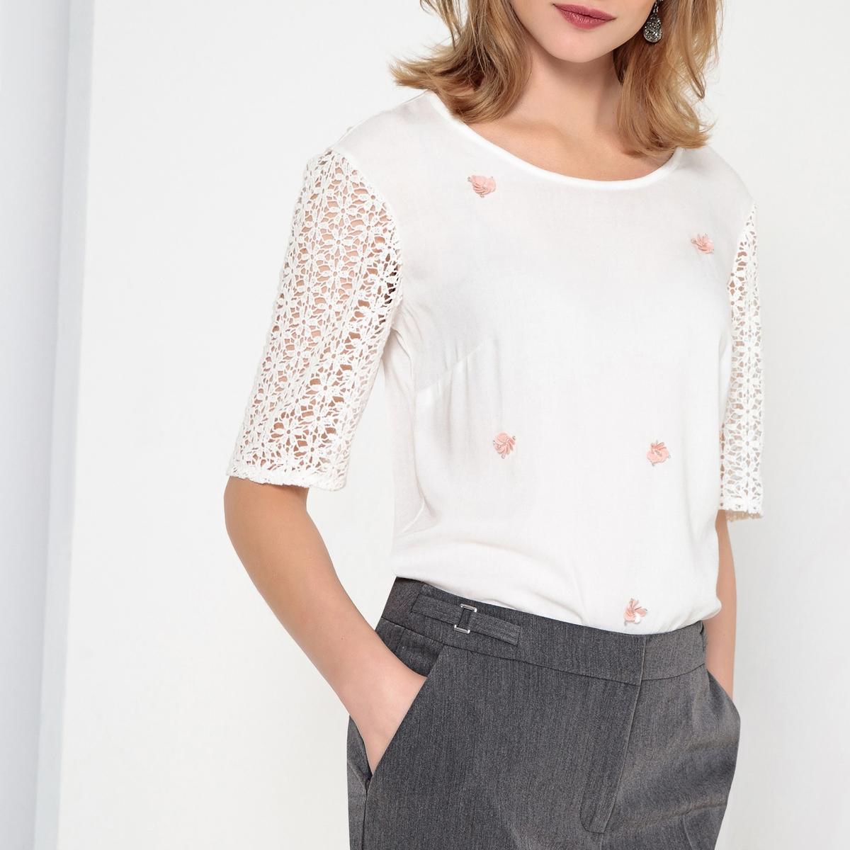 Imagen secundaria de producto de Camiseta fantasía de punto vaporoso - Anne weyburn