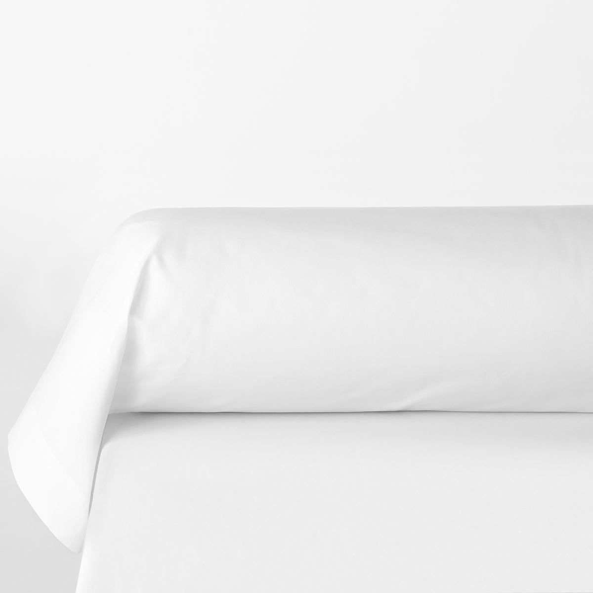 Наволочка на подушку-валик из полиэстера и хлопка (поликоттон)