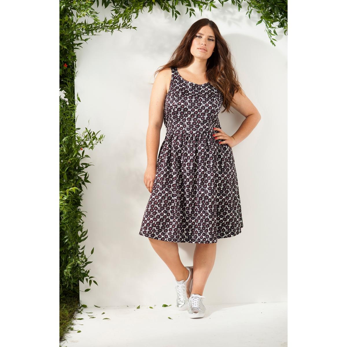 Платье без рукавов платье без рукавов 85% хлопка