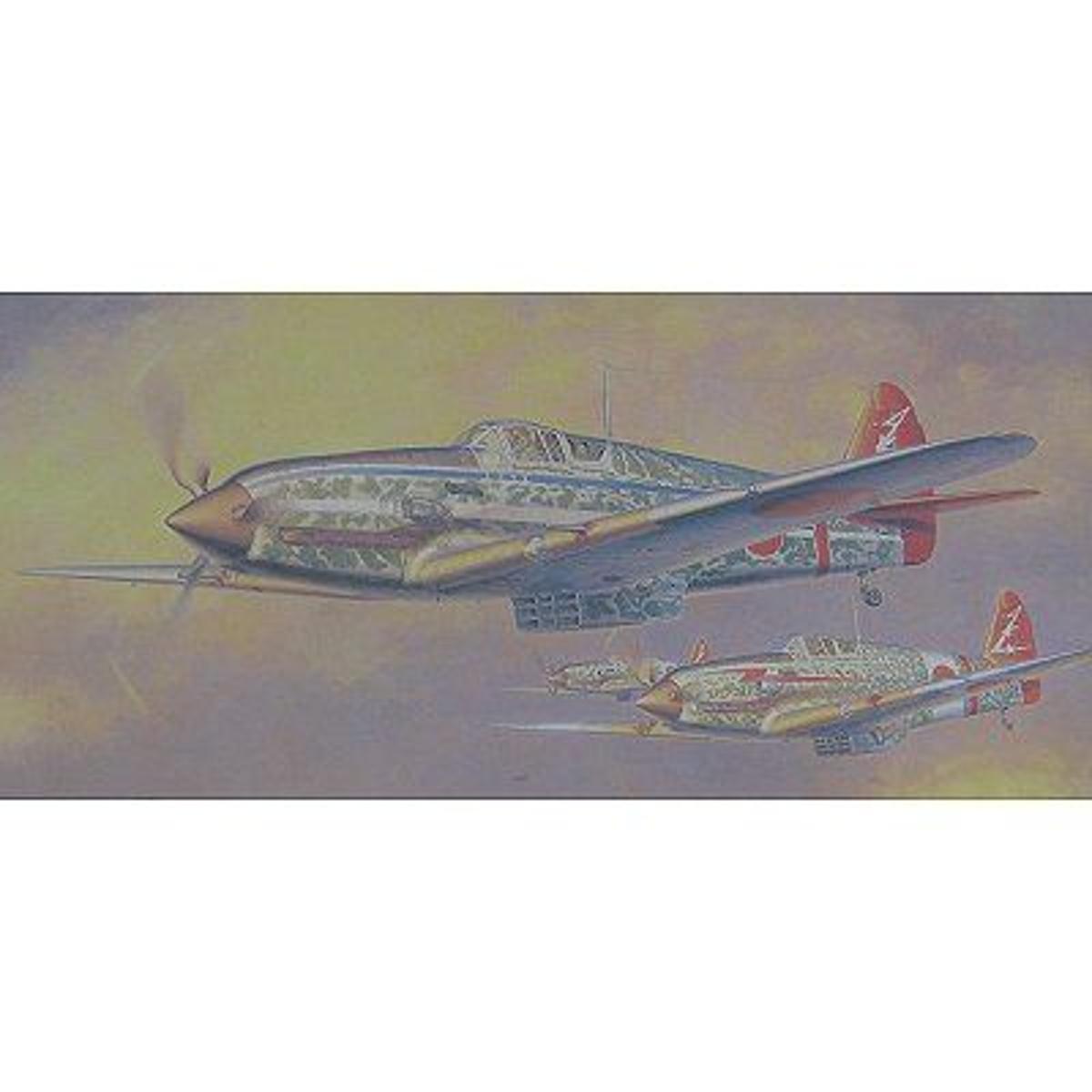 Maquette avion: Kawasaki KI611-I Hien (Tony)