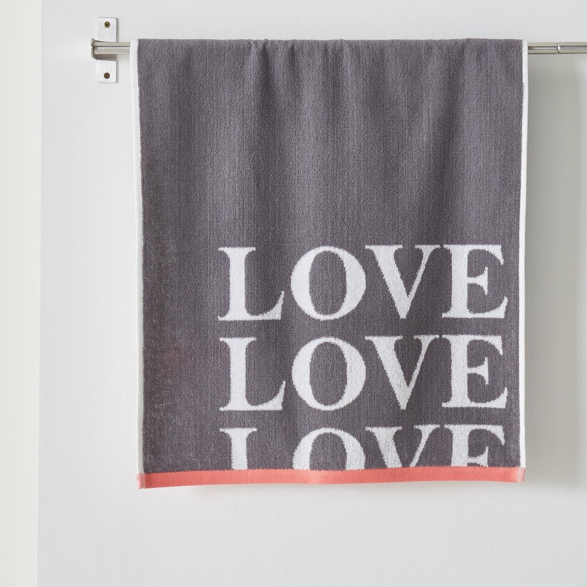 Полотенце махровое LOVE, 100% хлопокМахровое полотенце LOVE из хлопка. Полотенце из мягкого и плотного хлопка LOVE, Вы его полюбите! Отделка контрастной кромкой, следуя модным тенденциям.Характеристики:Материал: махровая ткань из 100% хлопка, 450 г/м?.Уход:Стирать при 60°С.Размеры:50 x 100 см. Вы можете приобрести также другие модели полотенец на нашем сайте.<br><br>Цвет: антрацит<br>Размер: 50 x 100 см