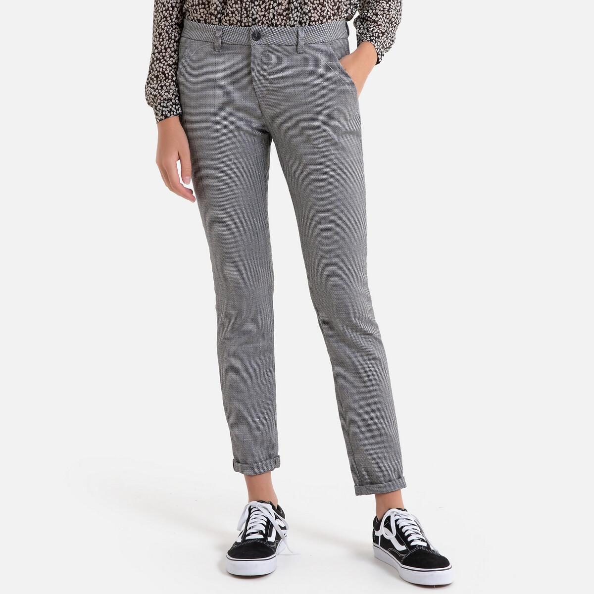 Pantalon slim à carreaux