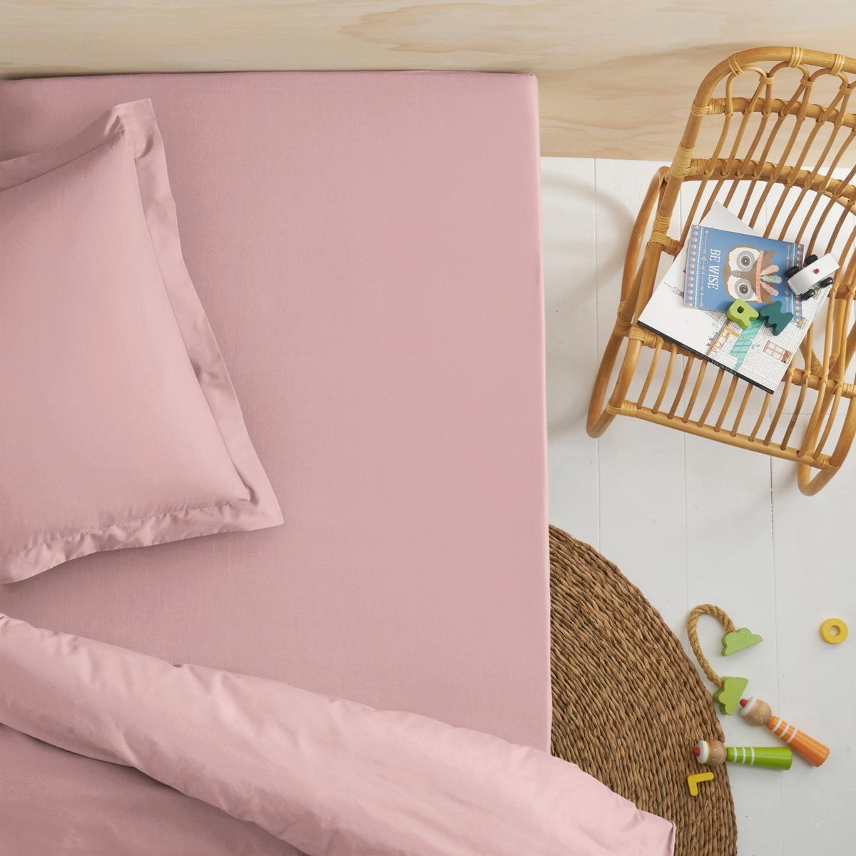 Простыня натяжная для детской кровати из биохлопка