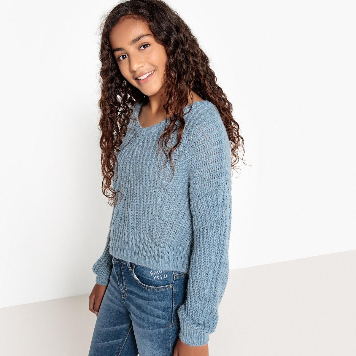 Пуловер свободного покроя, 10-16 лет