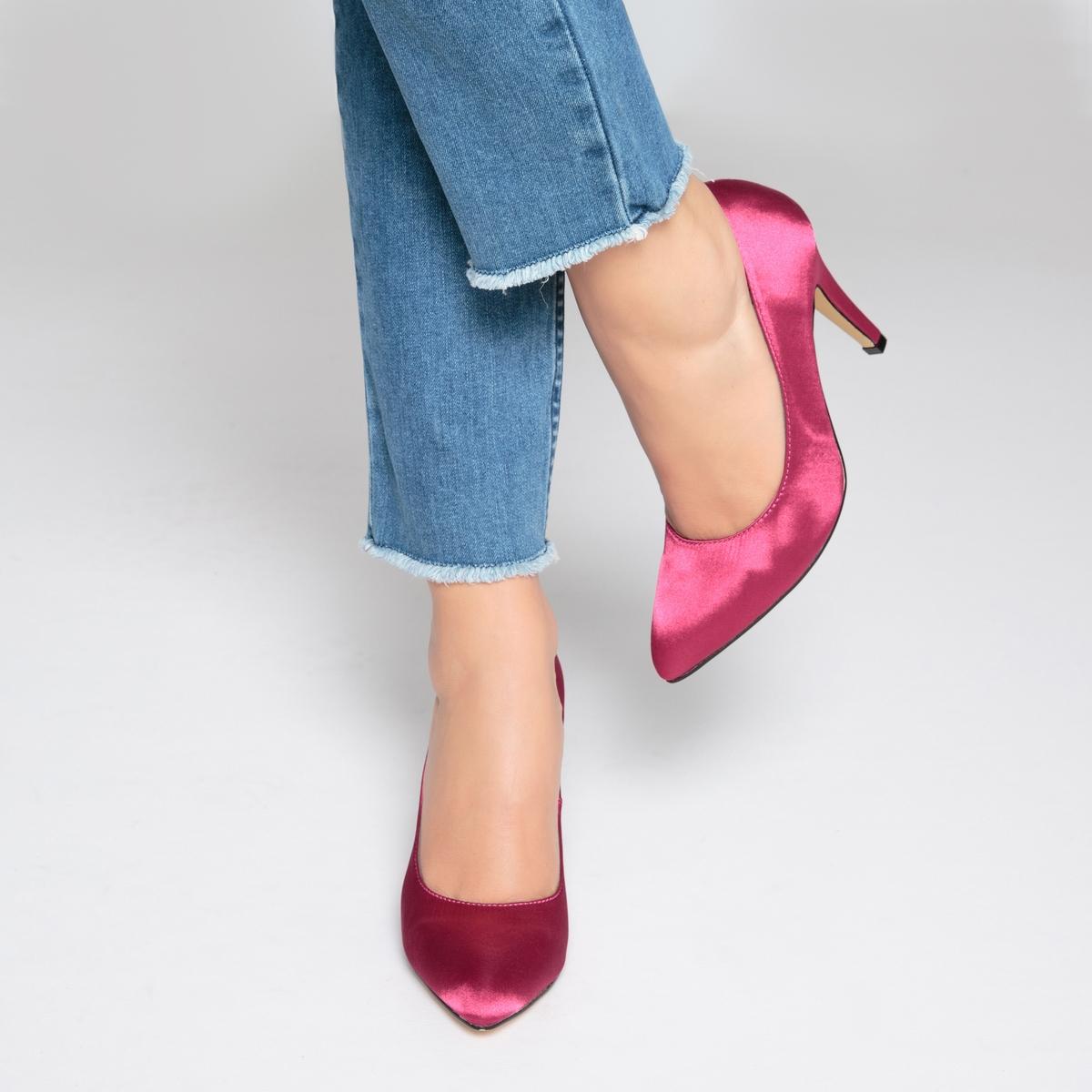 Sapatos tipo cetim