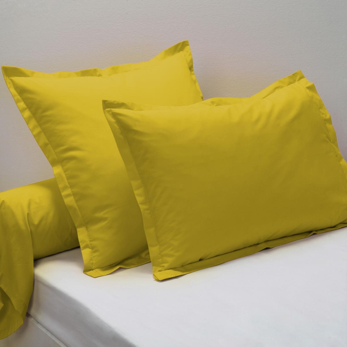 Наволочки из перкалиНаволочка на подушку и подушку-валик из перкали, ультра мягкая ткань, эластичная и шелковистая, которая придает безупречную форму и настоящее чувство комфорта ! КАЧЕСТВО BESТ . Характеристики наволочек из перкали BEST  :Новое качество ткани с ультра плотным переплетением нитей (80 нитей/см?), Чем больше количество нитей/см?, тем выше качество материала .состоят из очень тонких нитей, сделанных из длинных волокон 100% чесаного хлопка, невероятно прочного и долговечного   : - Обработка Easy Care (просто гладить)   - Стирка при 60°                                                                                                                                                                                                                                                                                    Знак Oeko-Tex® гарантирует, что товары прошли проверку и были изготовлены без применения вредных для здоровья человека веществ .       .                                                                                                                                                                    Размеры :50 x 70 см : прямоугольная наволочка63 x 63 см : квадратная наволочка85 x 185   : наволочка на подушку-валик.                                                                                                         Найдите весь комплект постельного белья по ключевому словуBEST PERCALE<br><br>Цвет: анис,слоновая кость