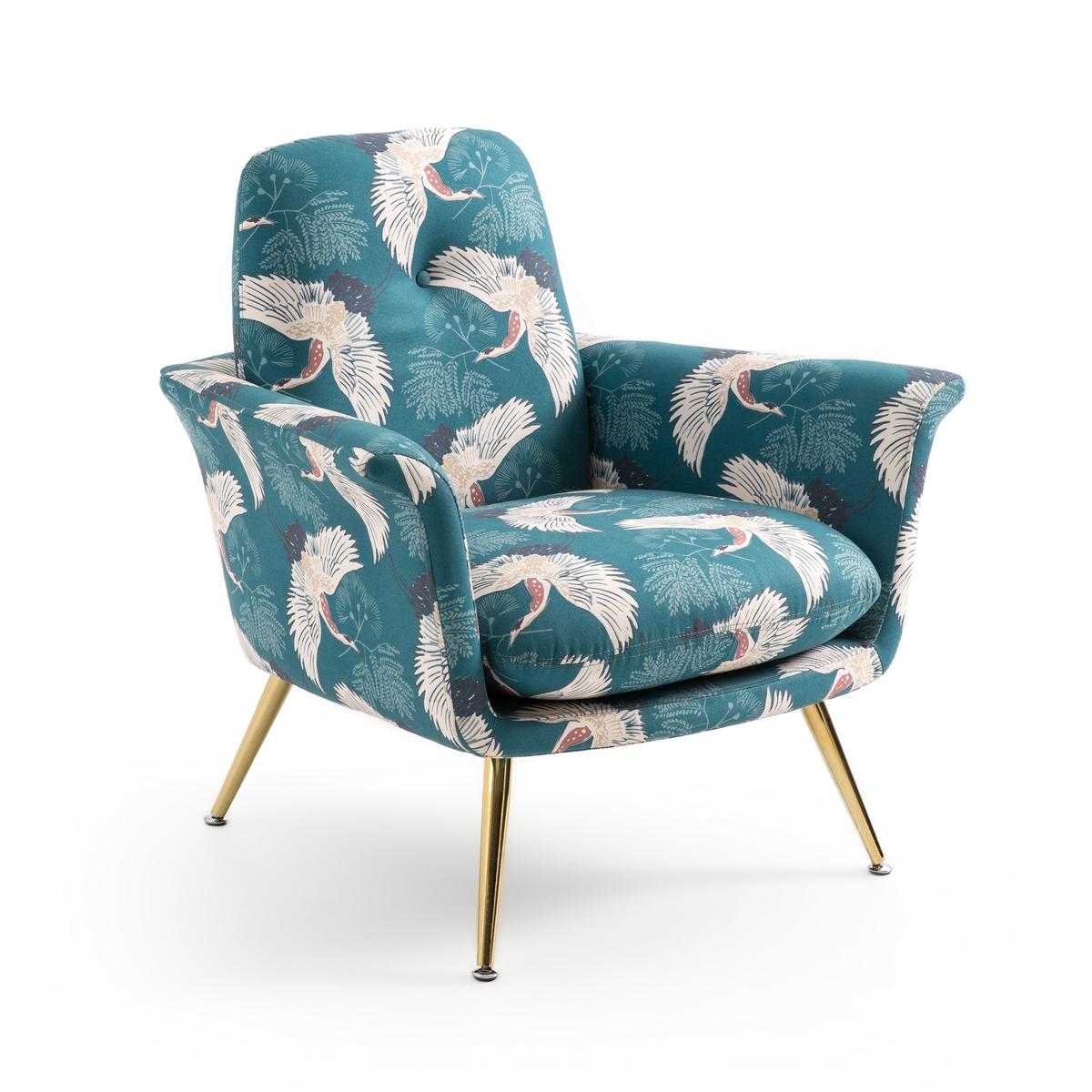 Кресло LaRedoute С принтом Elori единый размер другие