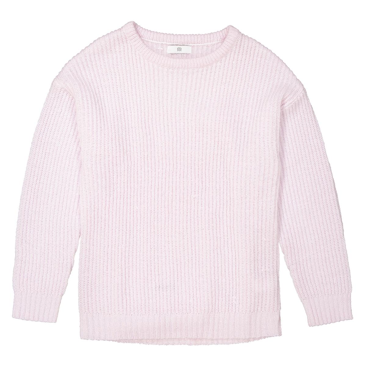 Sweter z okrągłym dekoltem oversize 10-16 lat