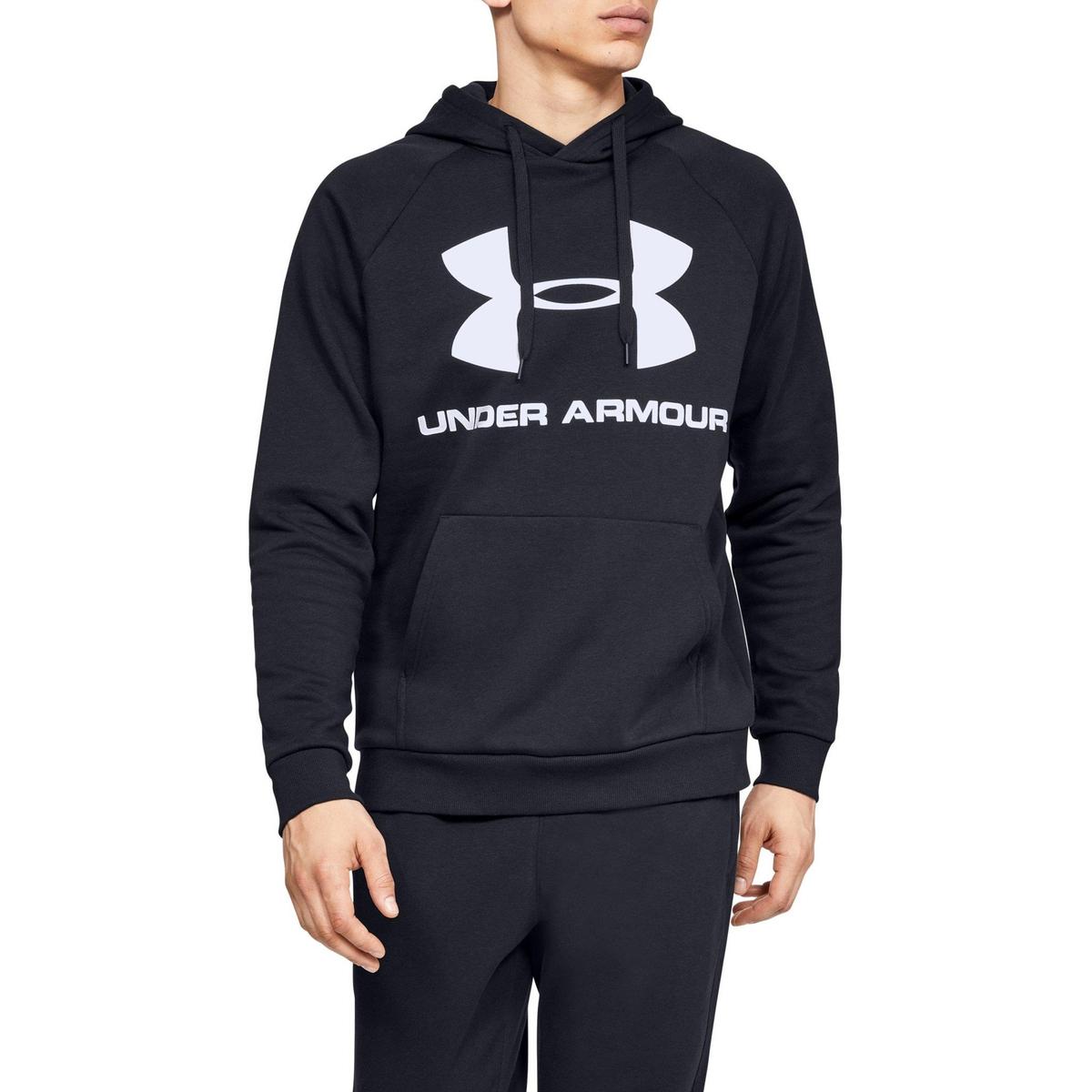 Свитшот La Redoute С капюшоном с логотипом из мольтона XL черный свитшот la redoute с логотипом в винтажном стиле la redoute m белый
