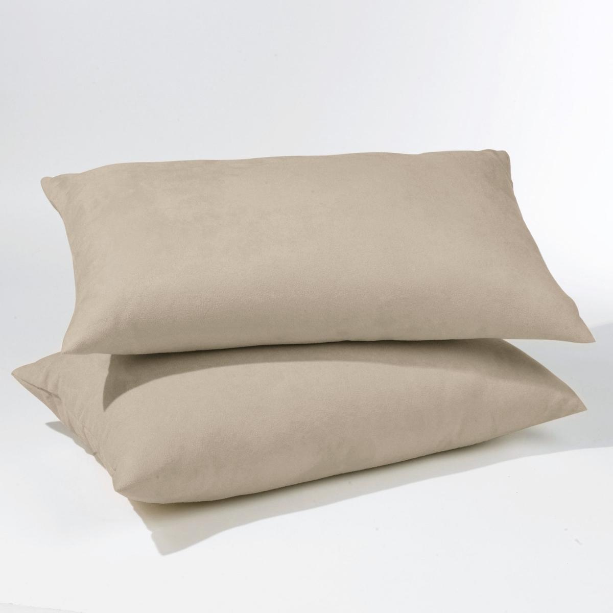 Комплект из 2 чехлов для подушек из поликоттонаКомплект из 2 чехлов для подушек из поликоттона подойдет для раскладных диванов (аккордеон и книжка). 7 расцветок для создания уникального интерьера на ваш вкус  !Характеристики чехлов для подушек из поликоттона для раскладных диванов:Качество VALEUR SURE, плотная ткань, 70% хлопка, 30% полиэстера. Скрытая застежка на молнию.  Размеры чехлов для подушек из поликоттона:Аккордеон : 50 x 30 см                                                                                           Книжка : 60 x 40 см<br><br>Цвет: гранатовый,серый жемчужный,темно-серый,черный,экрю<br>Размер: 60 x 40  см