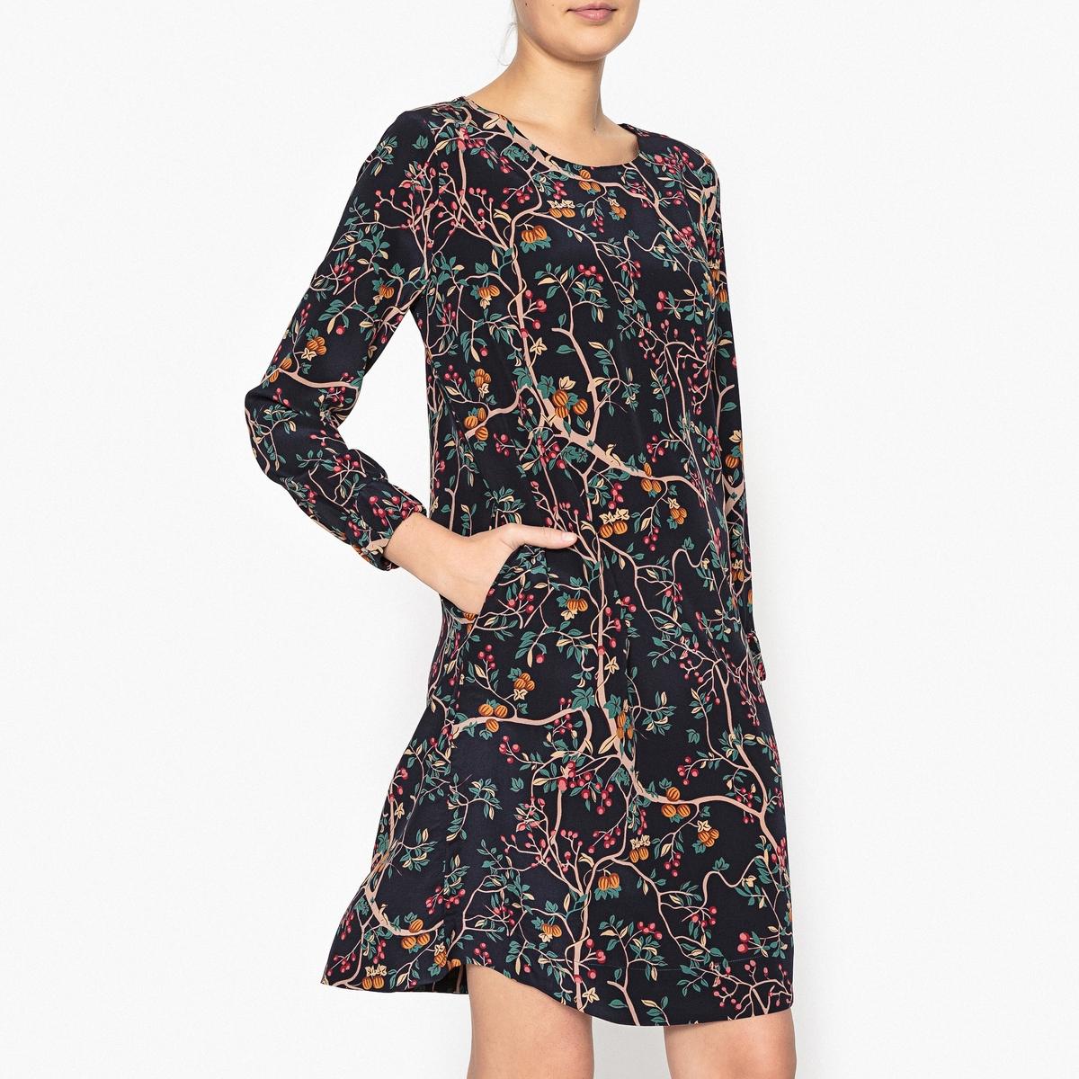 цена Платье с рисунком ADELINE онлайн в 2017 году