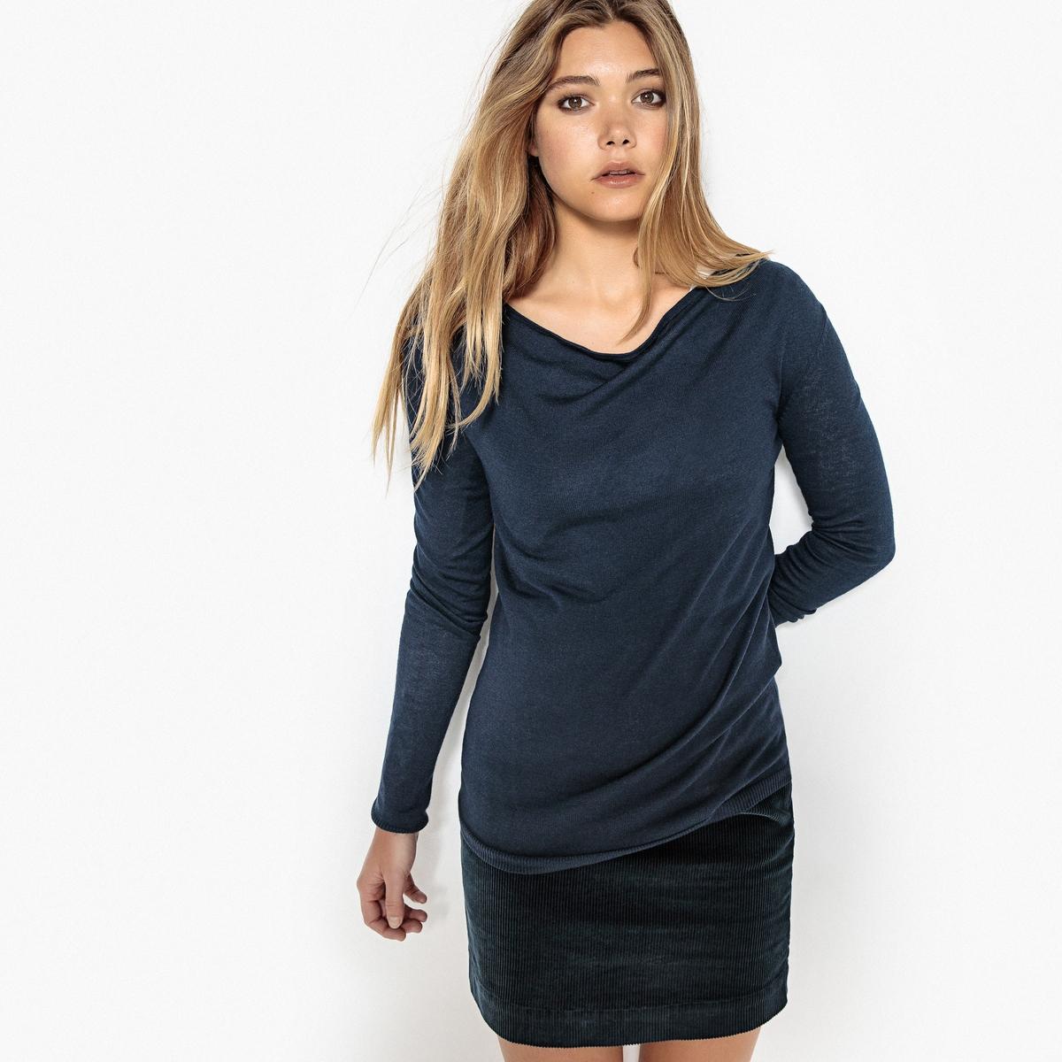 Пуловер классический из вискозы