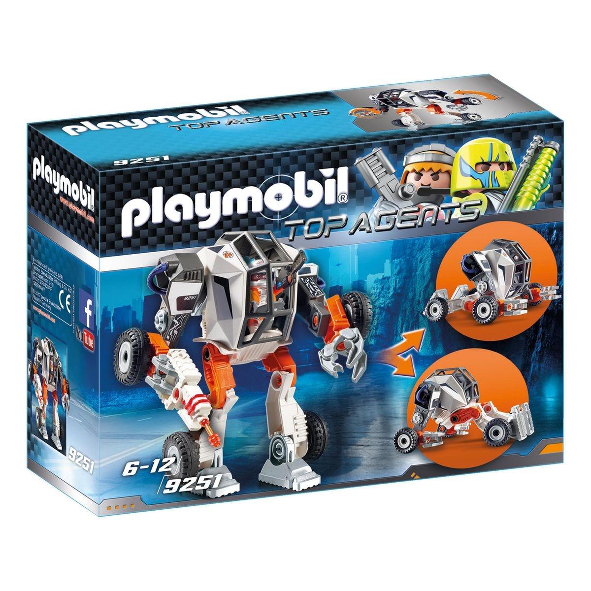 Chef de la Spy Team avec Robot Mech 9251