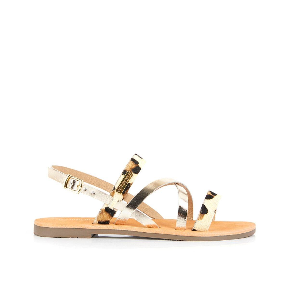 Sandales cuir Deci