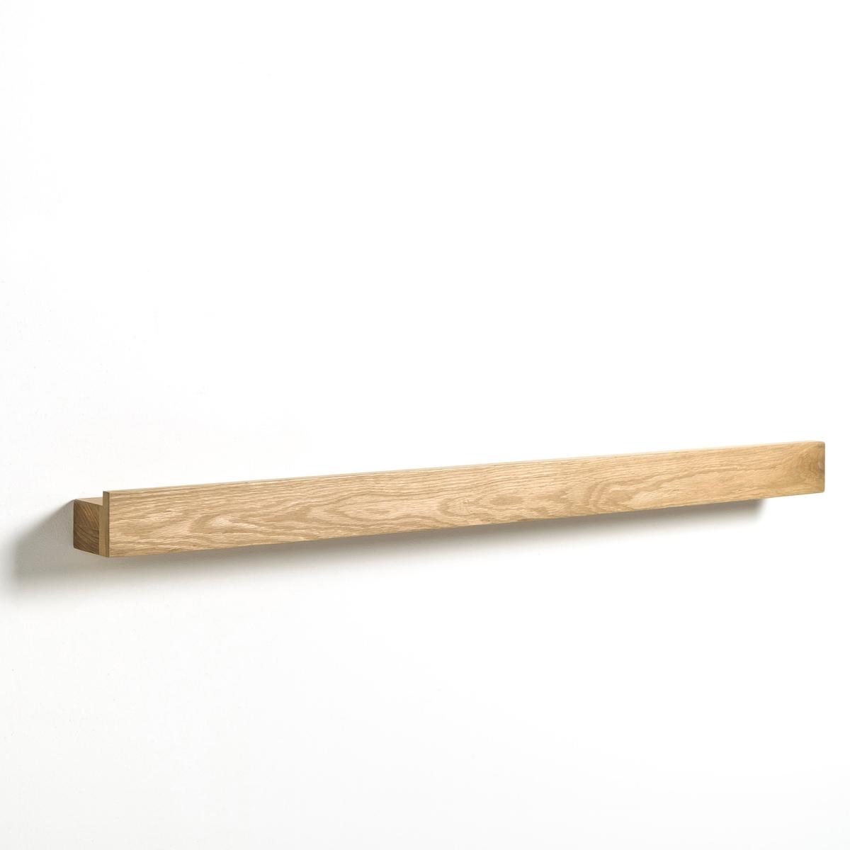 Полка-карниз длиной  100 см, DaganeХарактеристики:   - Из массива дуба.- Крепежная фурнитура в комплекте.Размеры: - 100 x 6,5 x 8 см.<br><br>Цвет: натуральный дуб