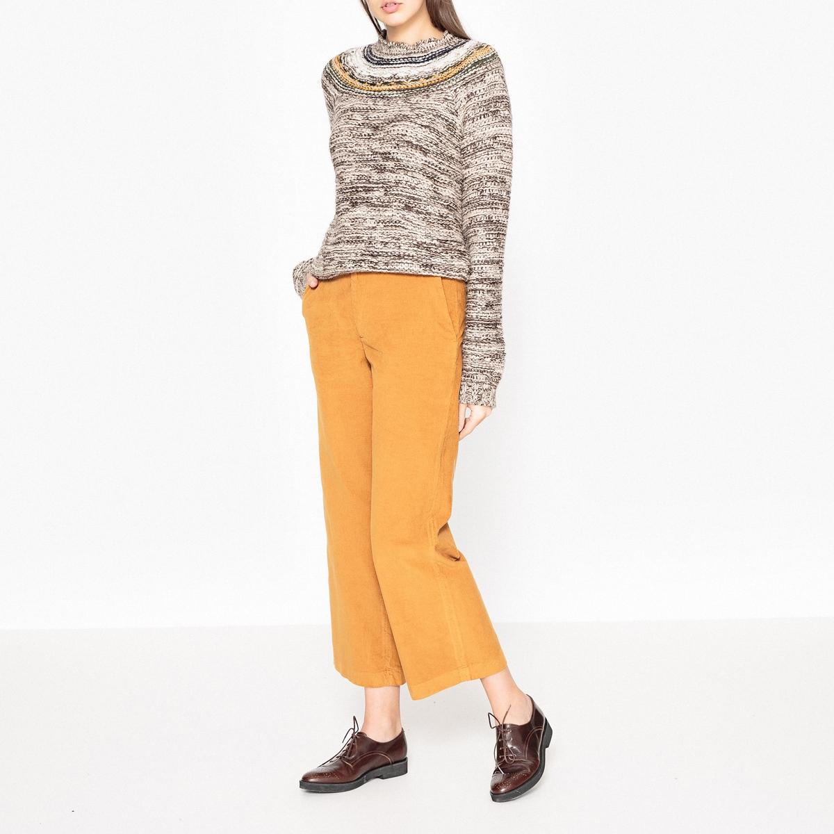 Пуловер с шарообразными рукавами MAYONESSA leon