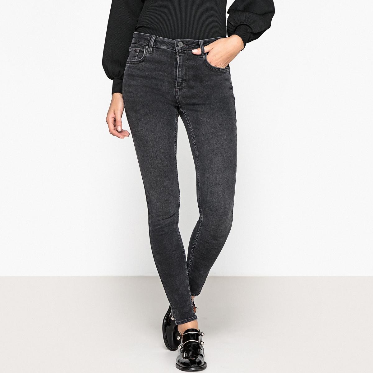 Джинсы-скинни с завышенной талией джинсы скинни 73 см