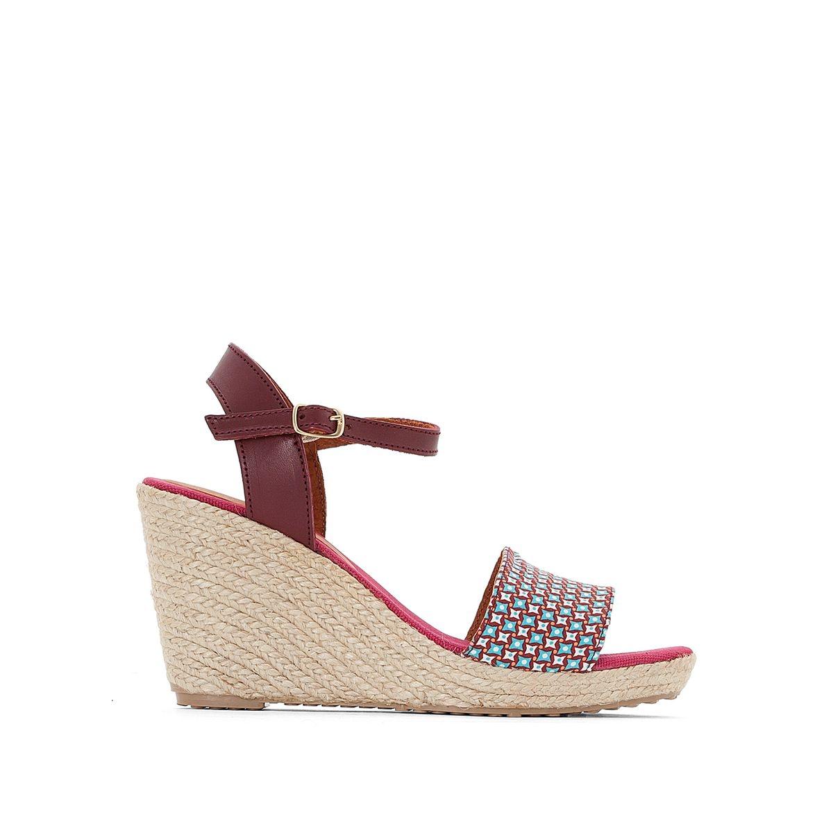 Sandales talon compensé Marina