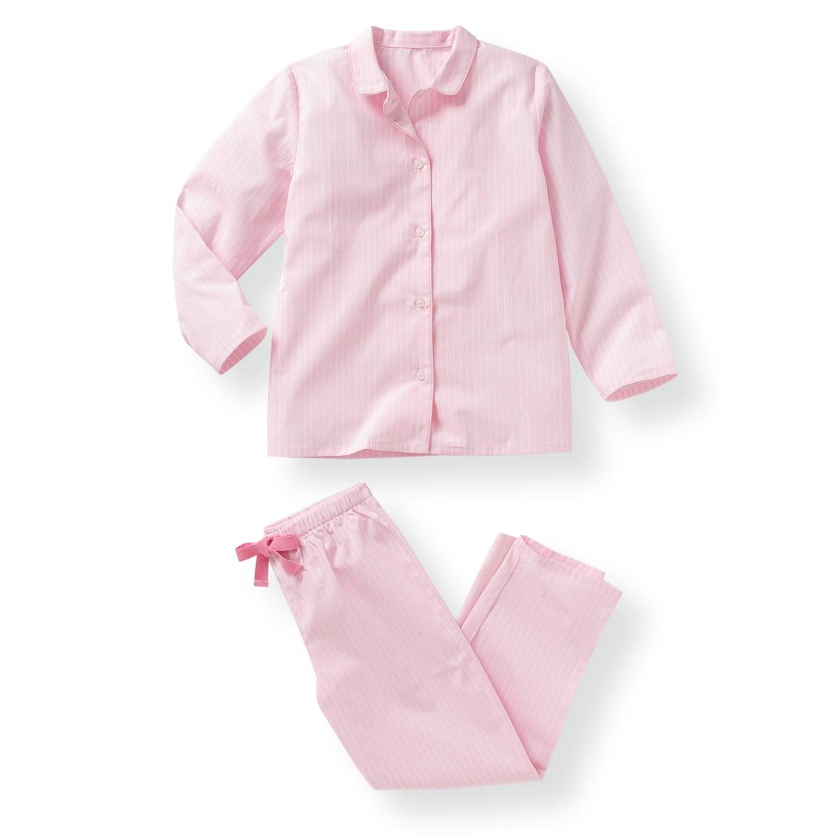 Пижама в полоску, 2-12 летПижама в полоску: куртка и брюки. Куртка с закругленным отложным воротником и застежкой на пуговицы. Широкие брюки с эластичным поясом.Состав и описание : Материал      полотно, 100% хлопокМарка      R essentiel  Уход :Машинная стирка при 30 °C с вещами схожих цветов.Стирать и гладить с изнаночной стороны.Машинная сушка в умеренном режиме.Гладить при низкой температуре<br><br>Цвет: в полоску<br>Размер: 8 лет - 126 см.3 года - 94 см