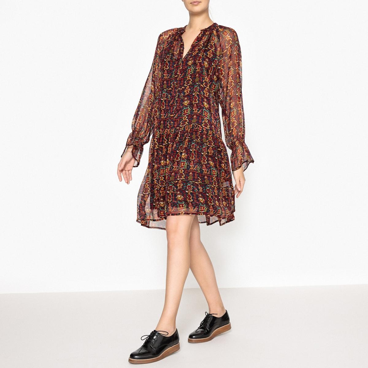 Платье с рисунком MERYS MINI DRESS antik batik короткое платье