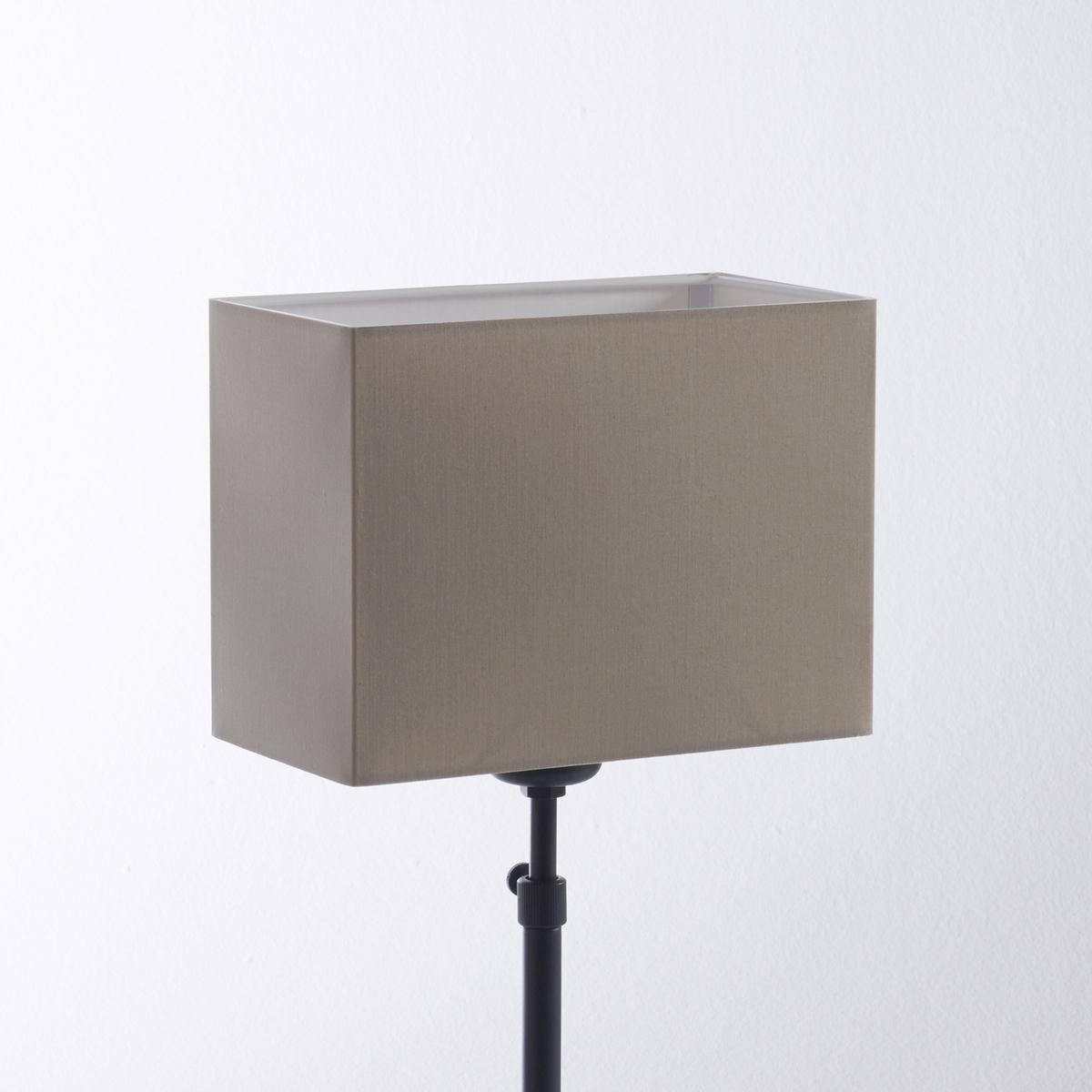 Абажур прямоугольной формы, Sc?narioОписание абажура :Прямоугольная форма..Для патрона E27, лампочка макс. 40В (не входит в комплект).Характеристики абажура :100% хлопок.Размеры абажура :13,5 x 25,5 см .<br><br>Цвет: золотистый,серо-коричневый,серый,черный