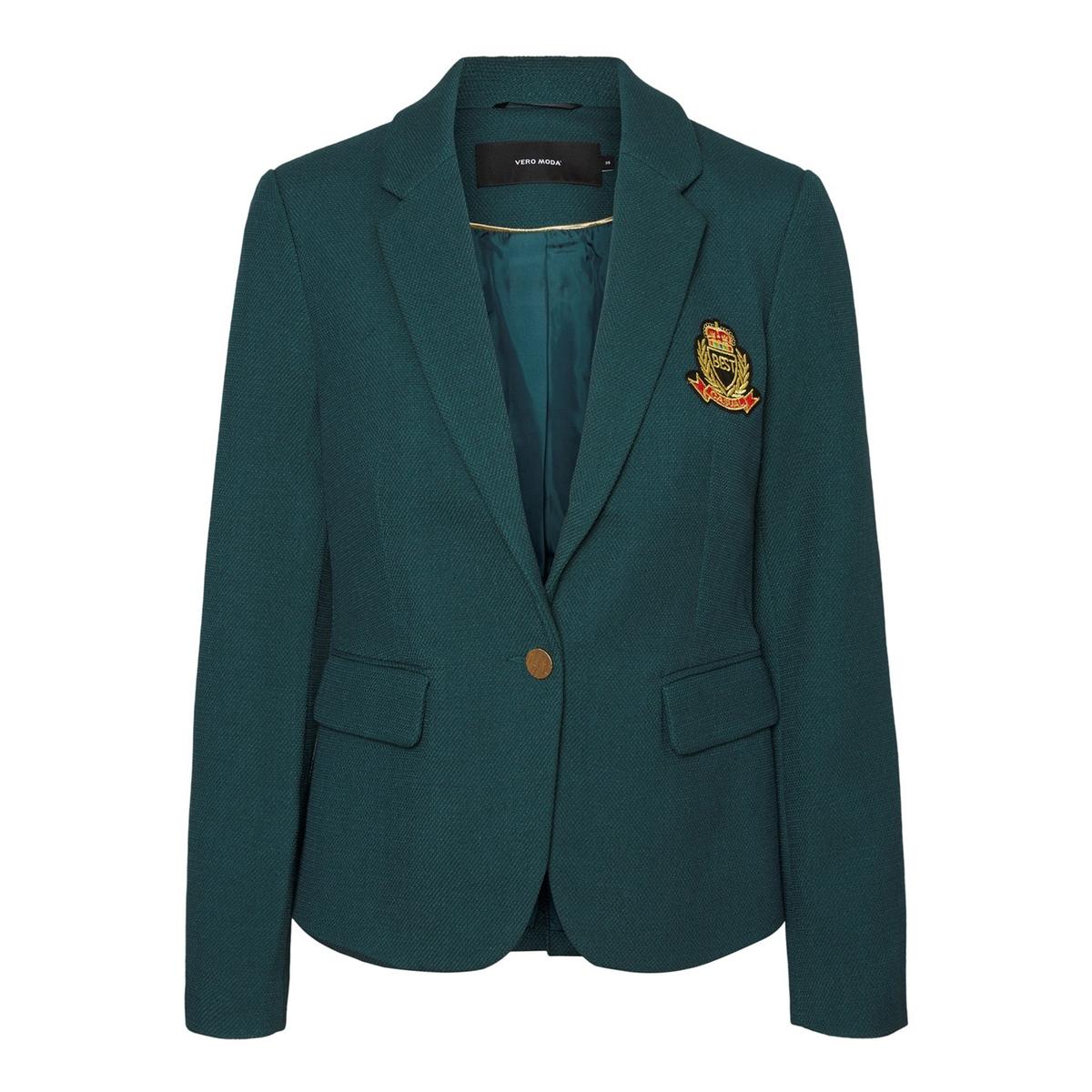 цена Жакет-блейзер La Redoute La Redoute 34 (FR) - 40 (RUS) зеленый онлайн в 2017 году