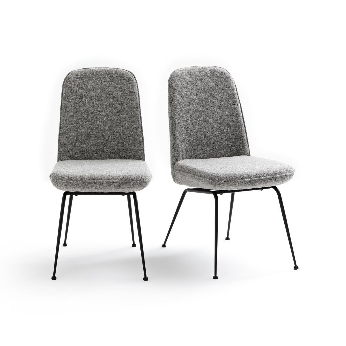 Комплект из 2 стульев, Belfort La Redoute La Redoute единый размер серый цена