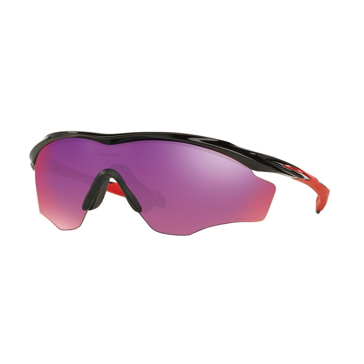 M2 Frame XL - Lunettes cyclisme Homme - rouge/noir