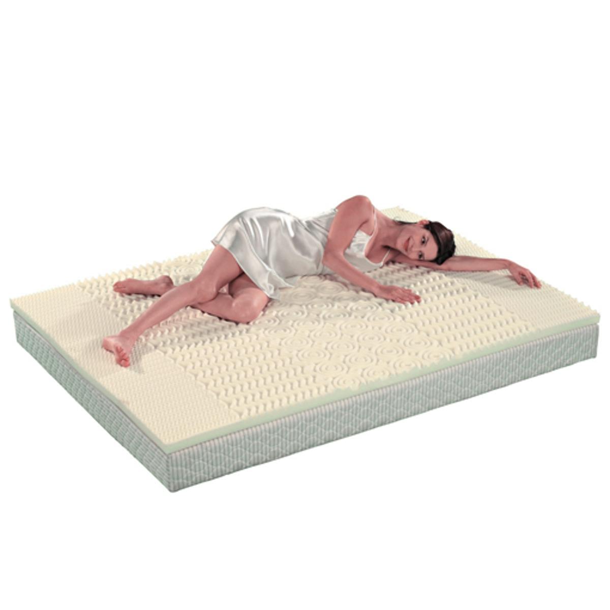 Наматрасник анатомический из пенополистиролаАнатомический наматрасник компенсирует недостатки излишне твердого или уже старого матраса для еще более комфортного сна.Описание наматрасника :Комфортный наматрасник из 100% пенополистирола (плотность 24 кг/м?)Высота 4 смХарактеристики наматрасника :5 зон поддержки головы, плеч, спины, ног и ступней - идеальное положение тела.Откройте для себя нашу коллекцию постельных принадлежностей на сайте laredoute.ru<br><br>Цвет: желтый