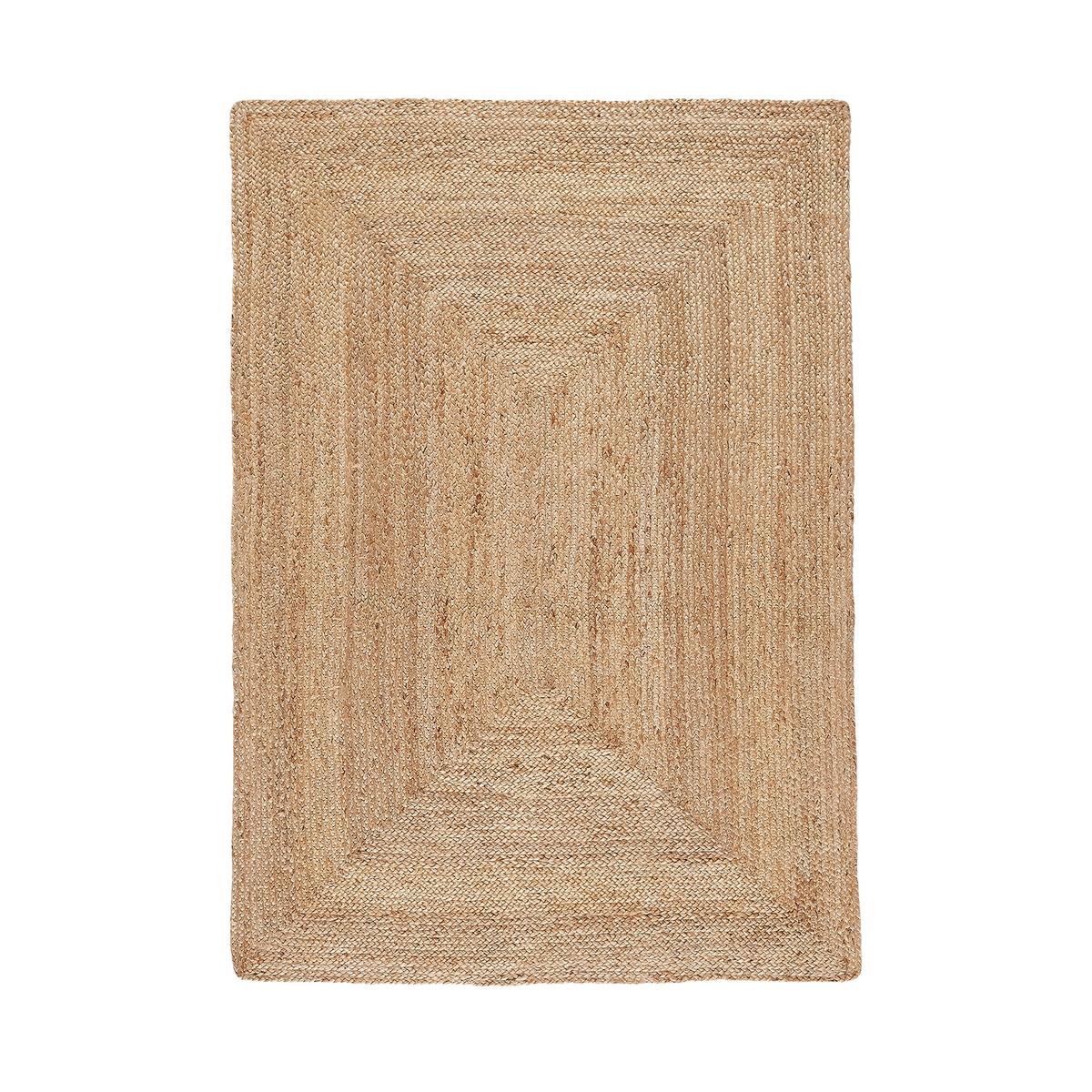 Ковер La Redoute Прямоугольный из джута Aftas 160 x 230 см бежевый наволочка la redoute flooch 50 x 30 см бежевый