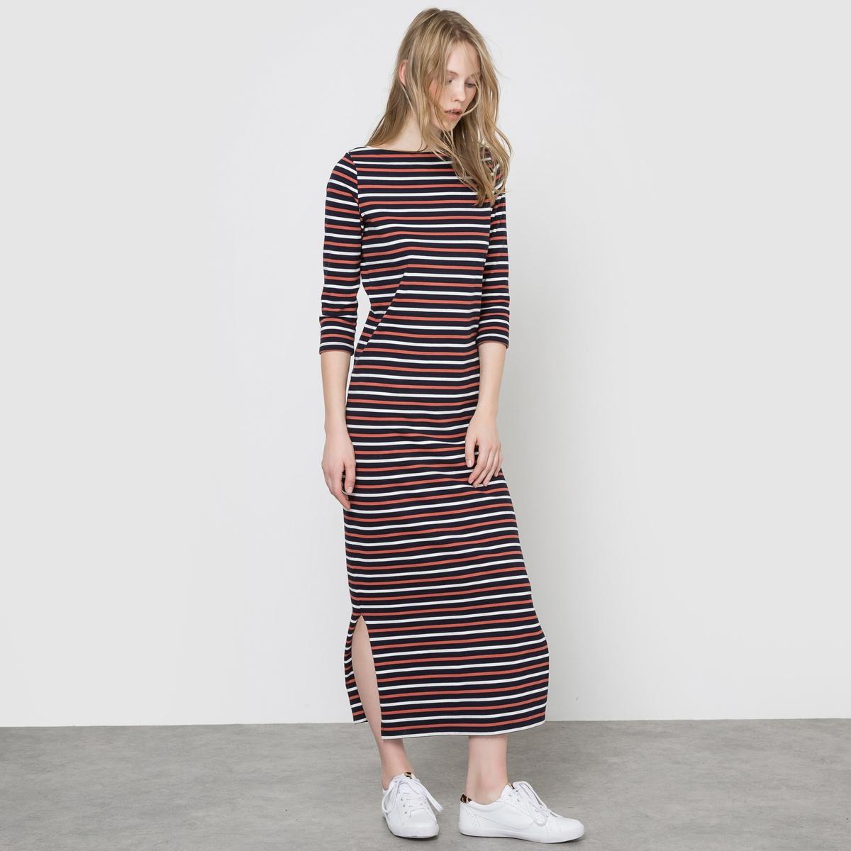 Платье длинное в полоску платье длинное с одессы с доставкой в крым