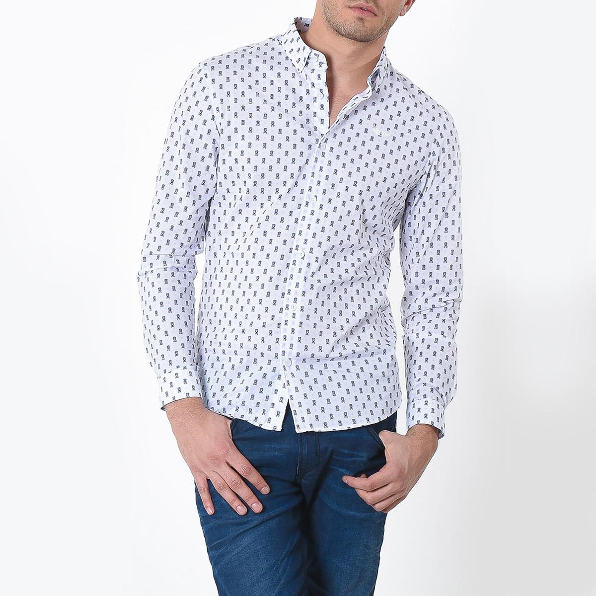 Рубашка облегающего покроя с рисунком Doya