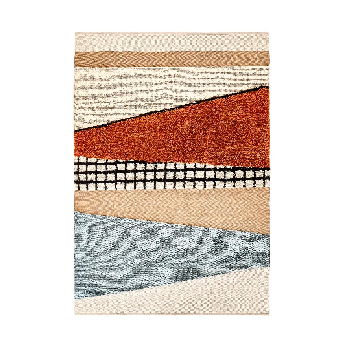 Ковер La Redoute Kieran 120 x 170 см разноцветный ковер la redoute из шерсти 120 x 170 см розовый