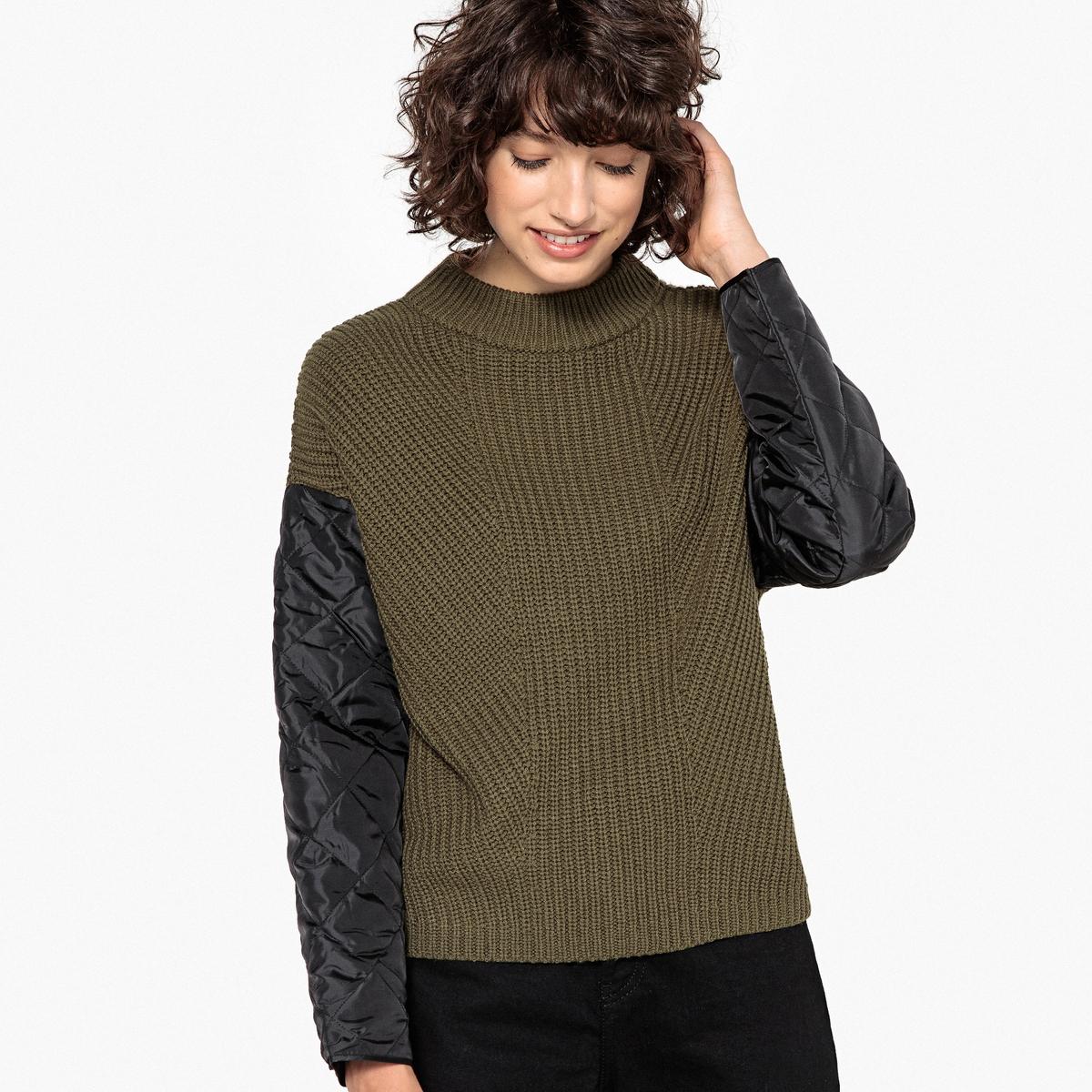 Bekleidung Damen Pullover Online Kaufen Damenmode Suchmaschine Mooi Printing Premium Sweater Top Mit Gesteppten Rmeln