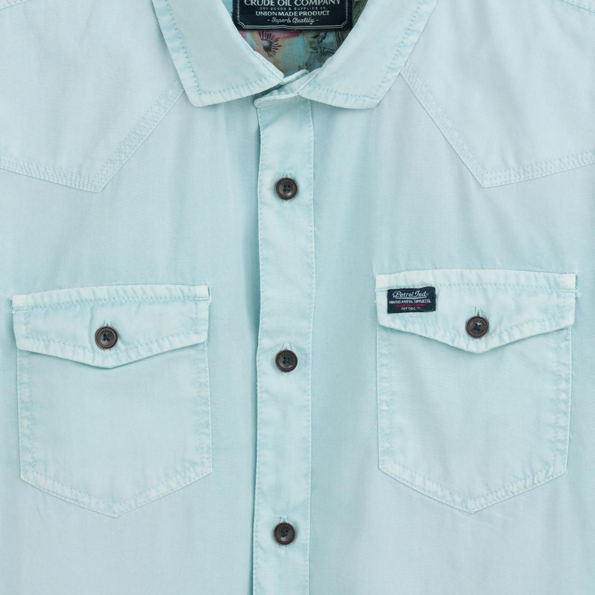 где купить Рубашка с короткими рукавами по лучшей цене