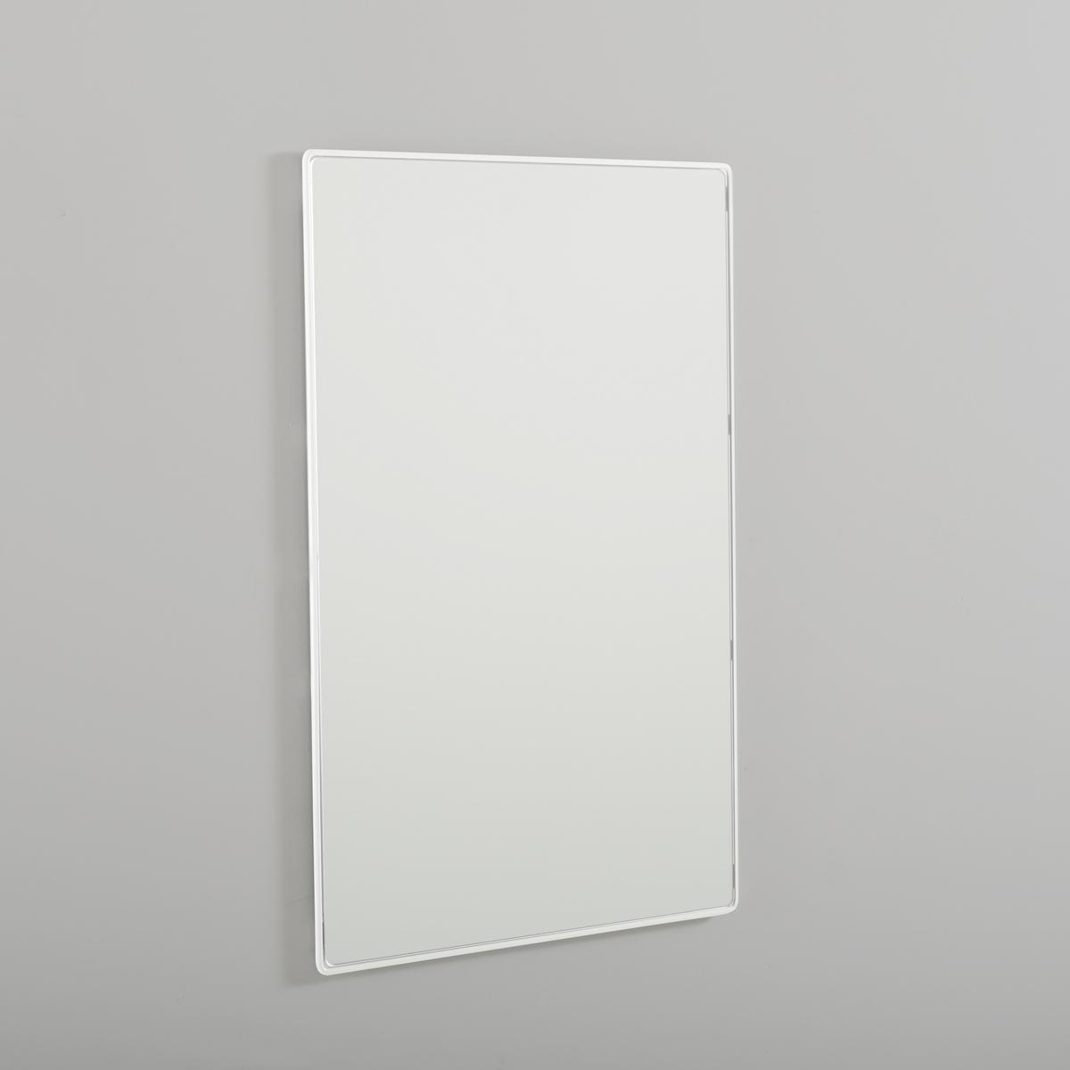 Зеркало BertilieЗеркало будет завершающим штрихом для блестящей отделки Вашего декора! Описание зеркала Bertilie:Зеркало прямоугольной формы.Характеристики зеркала Bertilie:Каркас из проволочного металла, отделка эпоксидной краской черного или белого цвета.Другие оригинальные предметы декора - на laredoute.ru.Размеры зеркала Bertilie:Ш.60 x В.90 x Г.1,6 см, 8,32 кг.Размер и вес с упаковкой:1 упаковка.Ш.67,5 x В.100 x Г.7 см, 10,22 кг.<br><br>Цвет: белый
