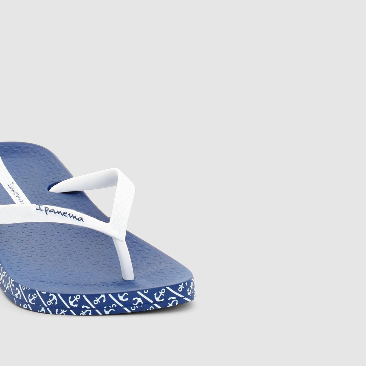 Вьетнамки Anatomic Soft FemВерх/Голенище : каучук   Стелька : каучук   Подошва : каучук   Форма каблука : плоский каблук   Мысок : открытый мысок   Застежка : без застежки<br><br>Цвет: синий/ белый<br>Размер: 41/42