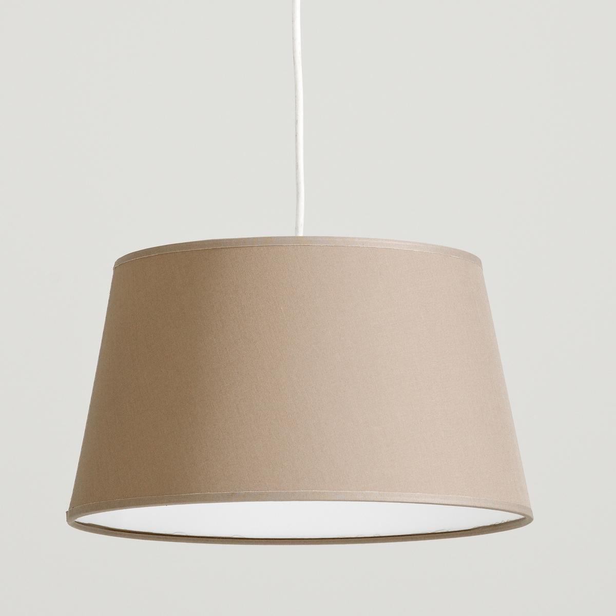Светильник 100% хлопок, FalkeОписание светильника Falke   :Электрифицированный  Шнур питания входит в комплект (длина 55 см)  Патрон E27, лампочка макс. 60W (не входит в комплект)   Этот светильник совместим с лампочками энергетического класса : A-B-C-D-E Характеристики светильника Falke   :100% хлопок Всю коллекцию светильников вы можете найти на сайте laredoute.ru.   Размеры светильника Falke  :Размер 2  : Диаметр низа : 45 смДиаметр верха : 35 смВысота : 26 см<br><br>Цвет: серо-коричневый