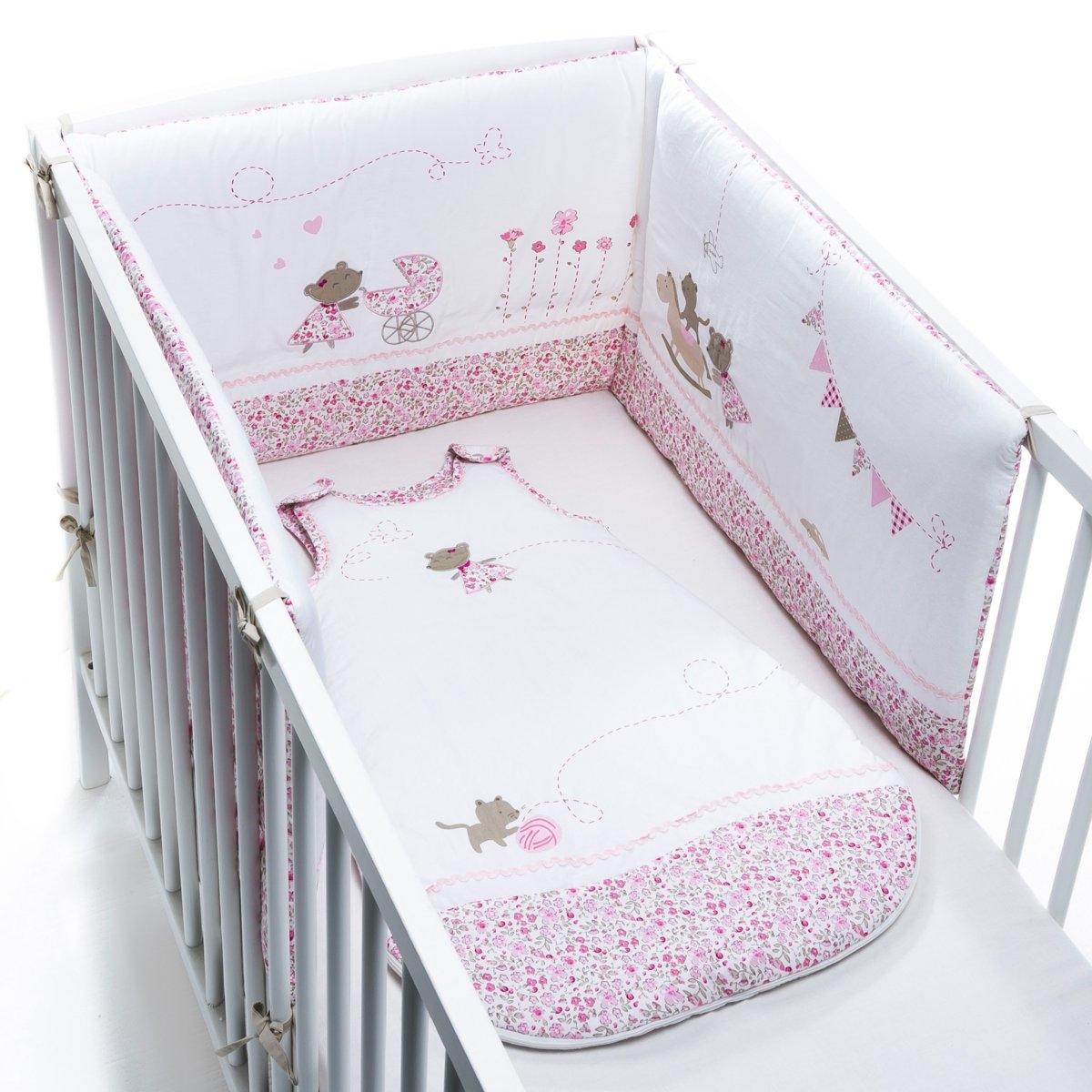 Защитная панель для кроватки Лили