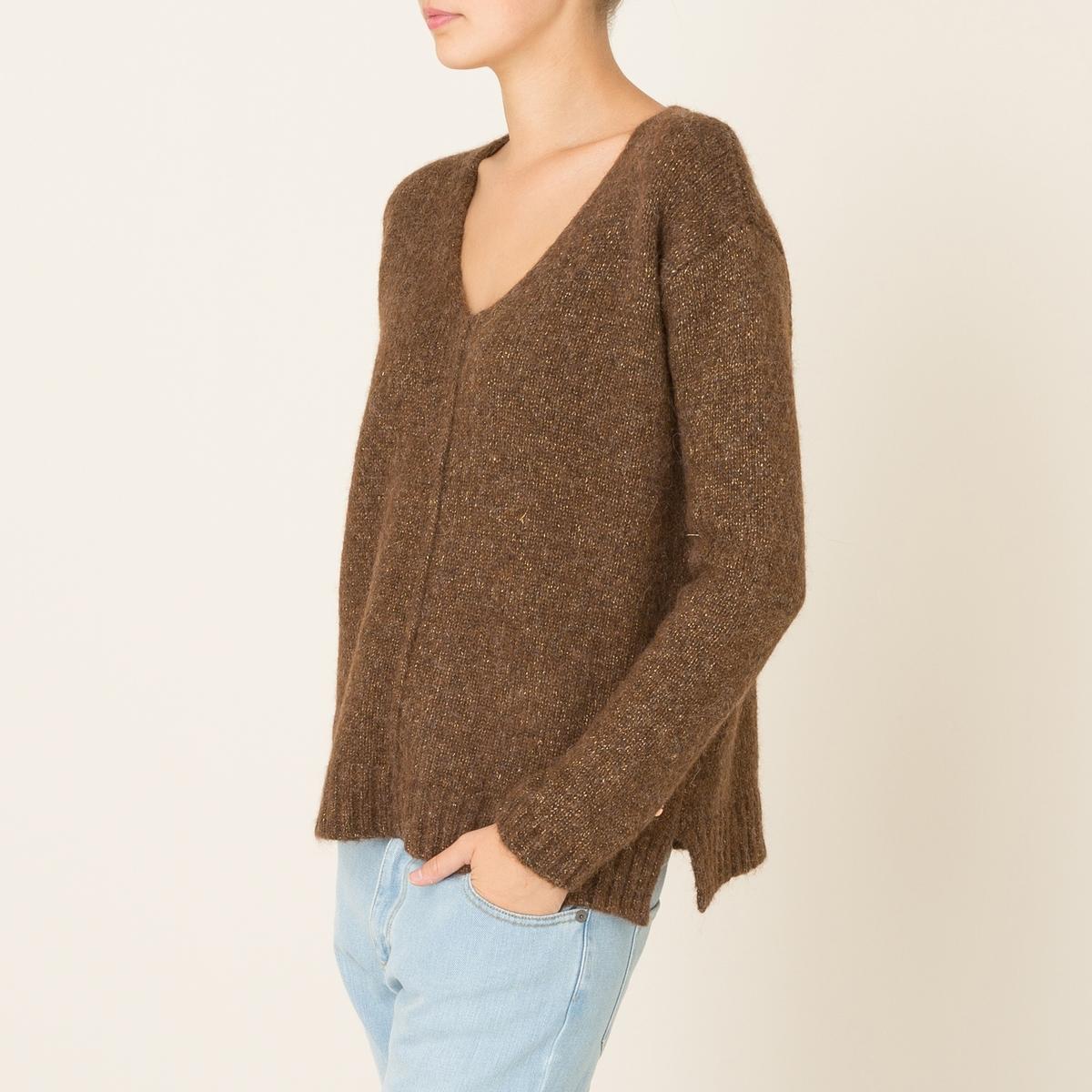 Пуловер TOREADORСостав и описание Материал : 32% полиамида, 30% мериносовой шерсти, 30% очень тонкой шерсти альпак, 8% полиэстераМарка : HARRIS WILSON<br><br>Цвет: темно-бежевый