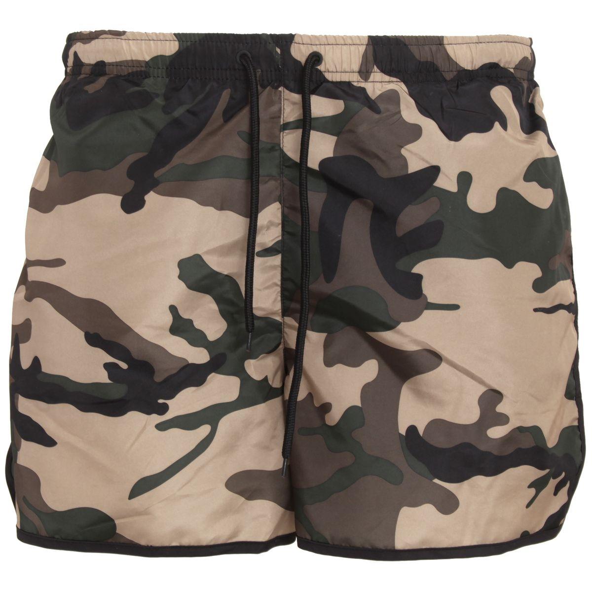 Short de bain camouflage