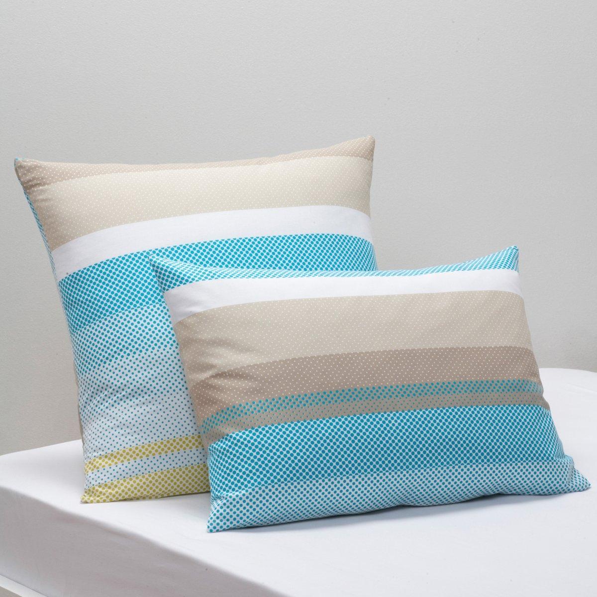 Наволочка УвиаКачество VALEUR S?RE за качественный материал с плотным переплетением нитей (57 нитей/см?). Красивое сочетание цветов и пиксельный рисунок! 100% хлопка. Стирка при 60°. Цвет: синий. Размеры: 50 x 70 см : прямоуг. 63 x 63 см : квадрат.<br><br>Цвет: синий/серый/анис/белый