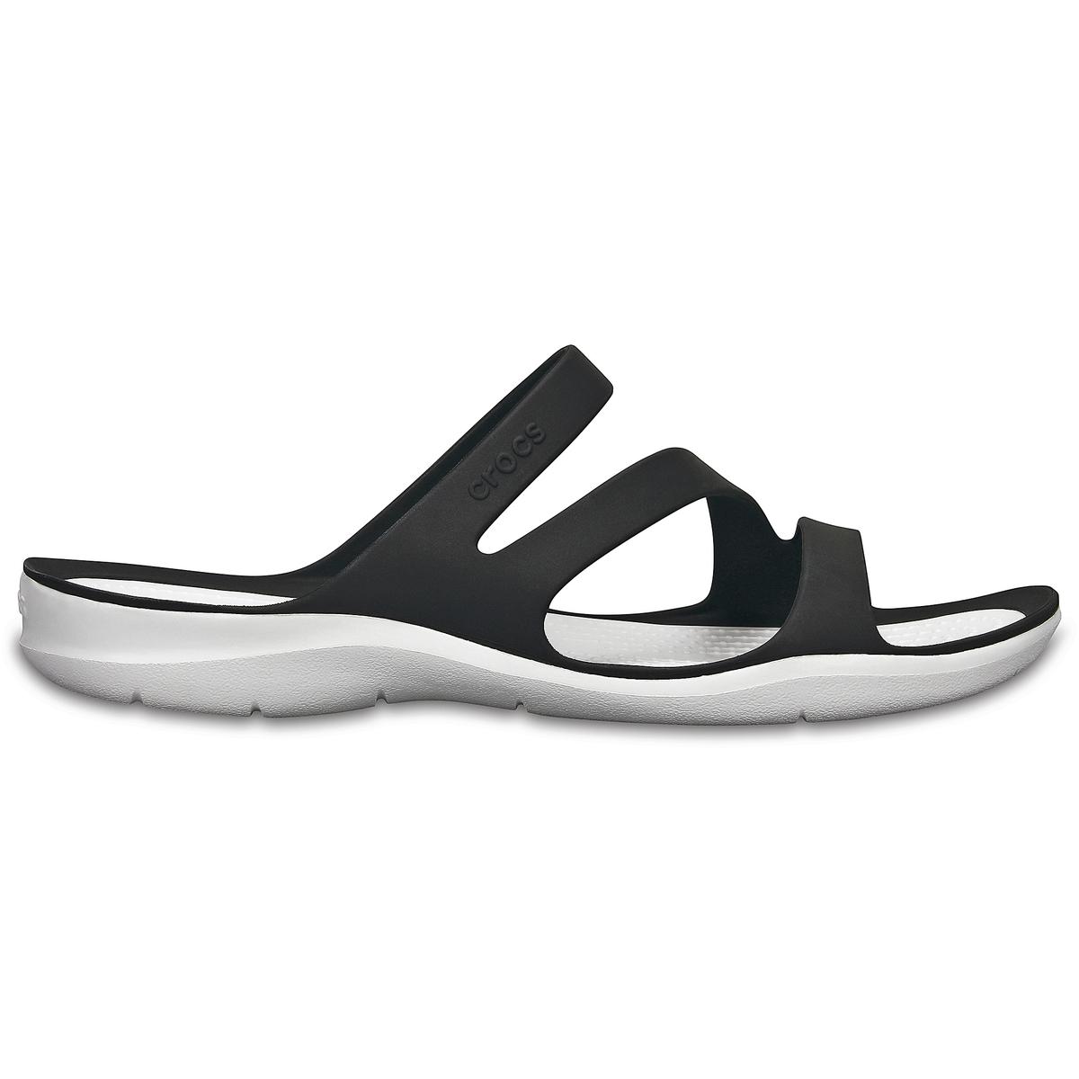Туфли без задника Swiftwater Sandal WВерх : термопластик   Подкладка : без подкладки   Стелька : термопластик   Подошва : полимер Croslite   Застежка : без застежки<br><br>Цвет: серый