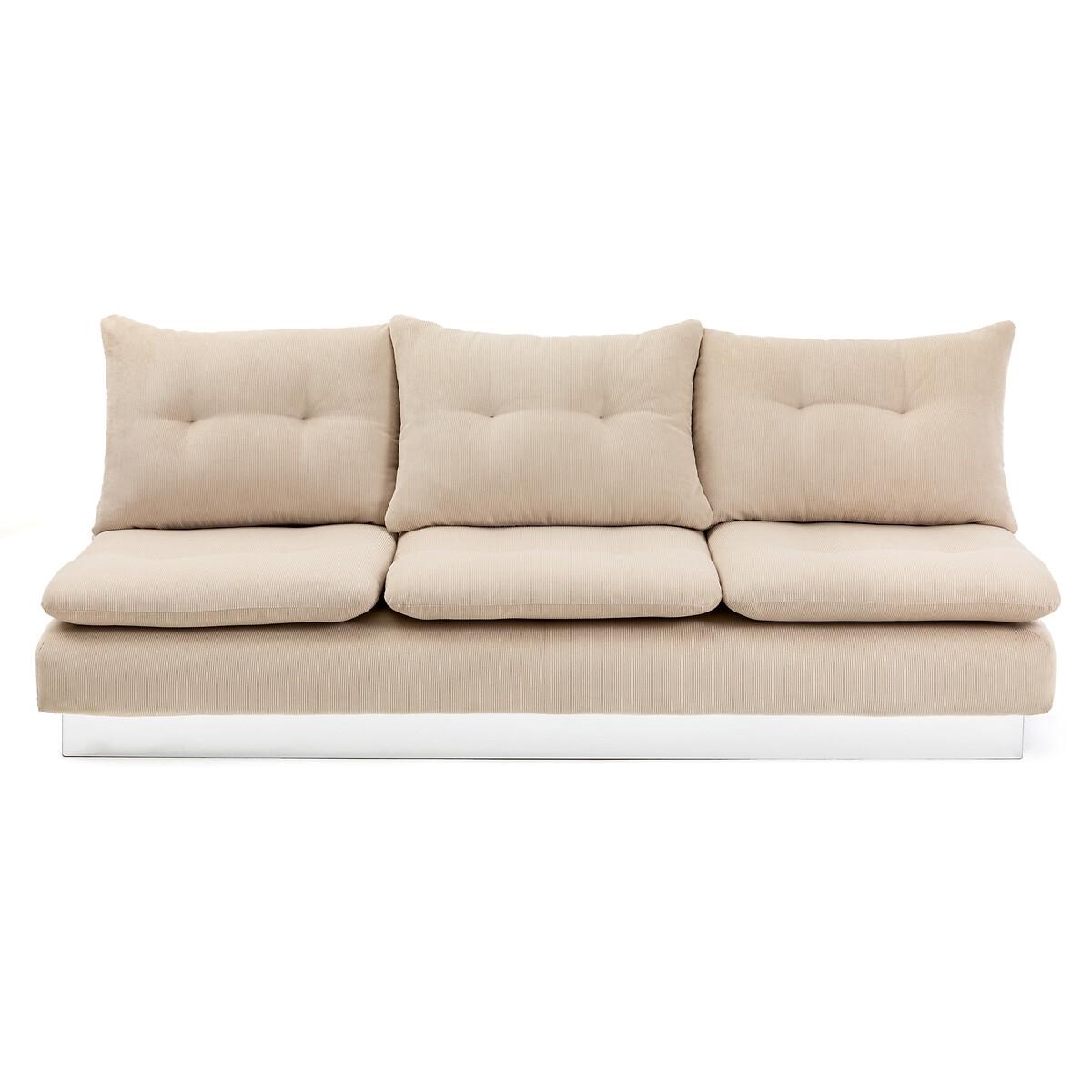 Canapé modulable 5 places Noir Tissu Design Confort