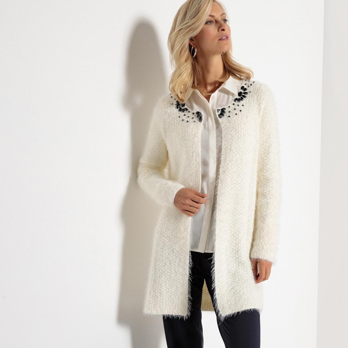 8ae34484078 Embellished Coatigan - Female First Shopping