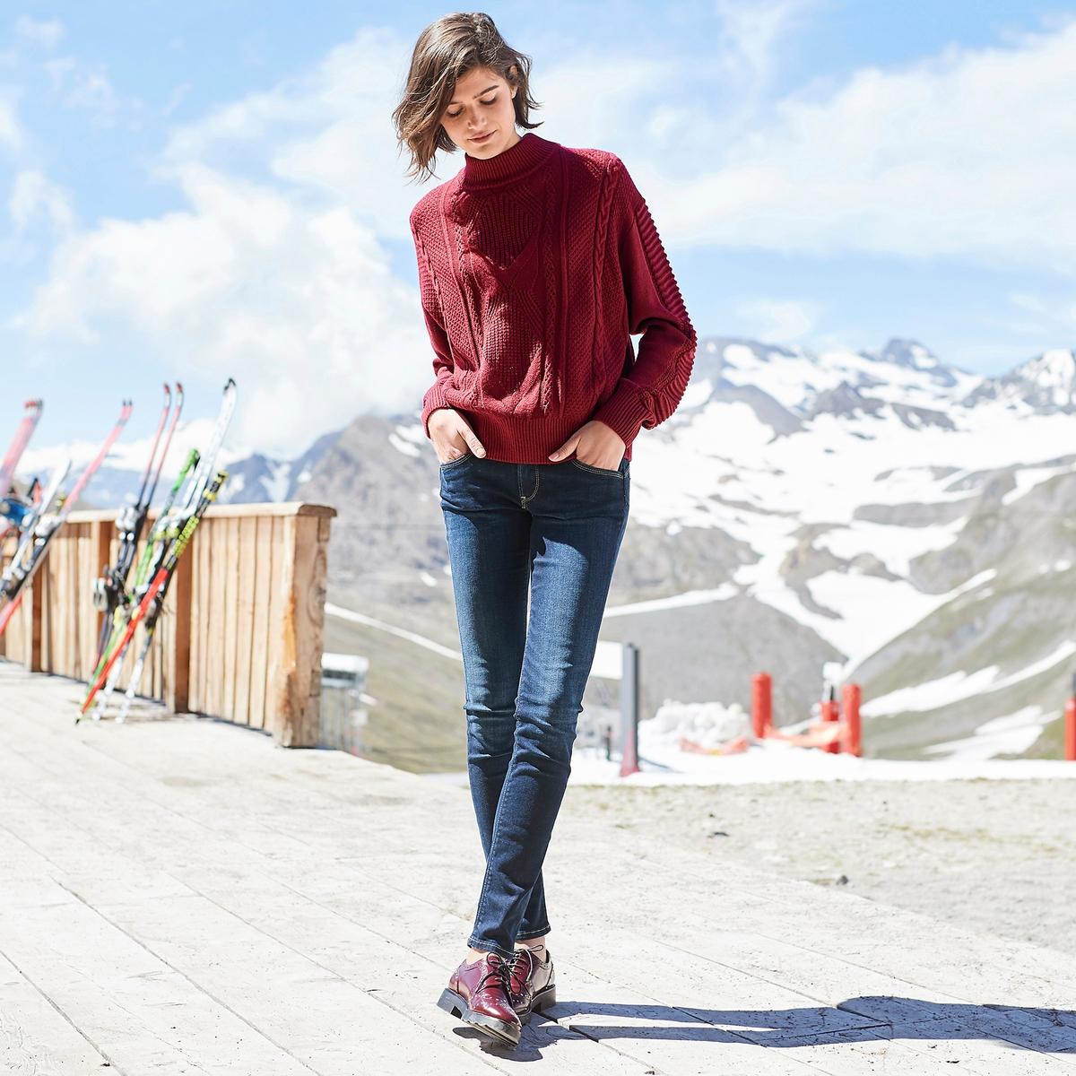 Imagen principal de producto de Jersey con cuello alto de punto grueso - Pepe Jeans